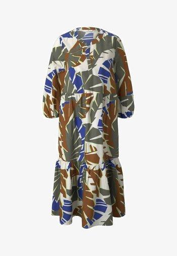 Day dress - multicolor botanical design