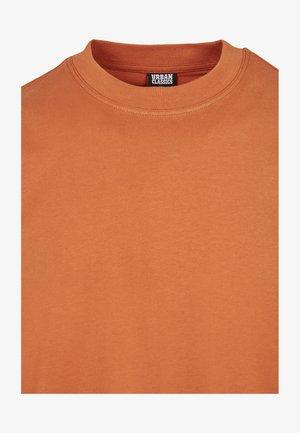 Basic T-shirt - rustred