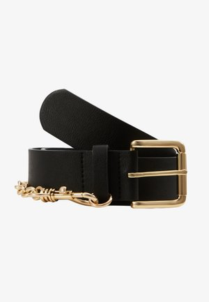 PCMAJE WAIST BELT - Taljebælter - black/gold-coloured