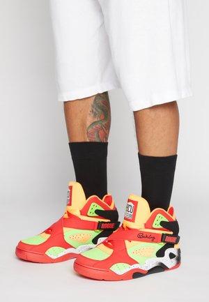 HBCU MUSEUM X ROGUE - High-top trainers - fiery red/green gecko/orange pop