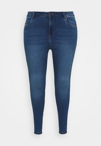 Noisy May Curve - NMAGNES - Jeans Skinny Fit - medium blue denim - 3