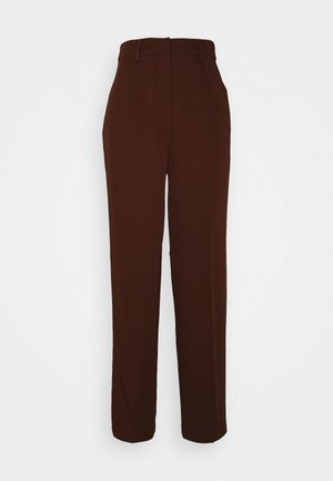 VMNEDA WIDE PANTS - Trousers - potting soil