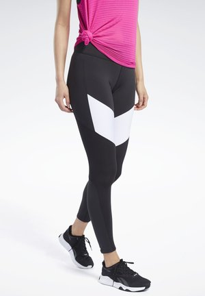 LUX COLORBLOCK 2 LEGGINGS - Tights - black