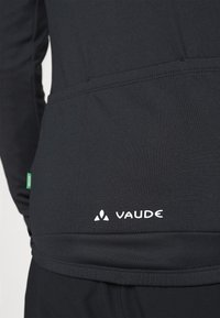 Vaude - MENS MATERA TRICOT - Long sleeved top - black - 4