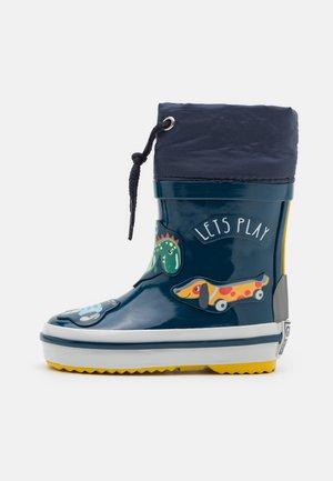 NEBRA - Stivali di gomma - marino