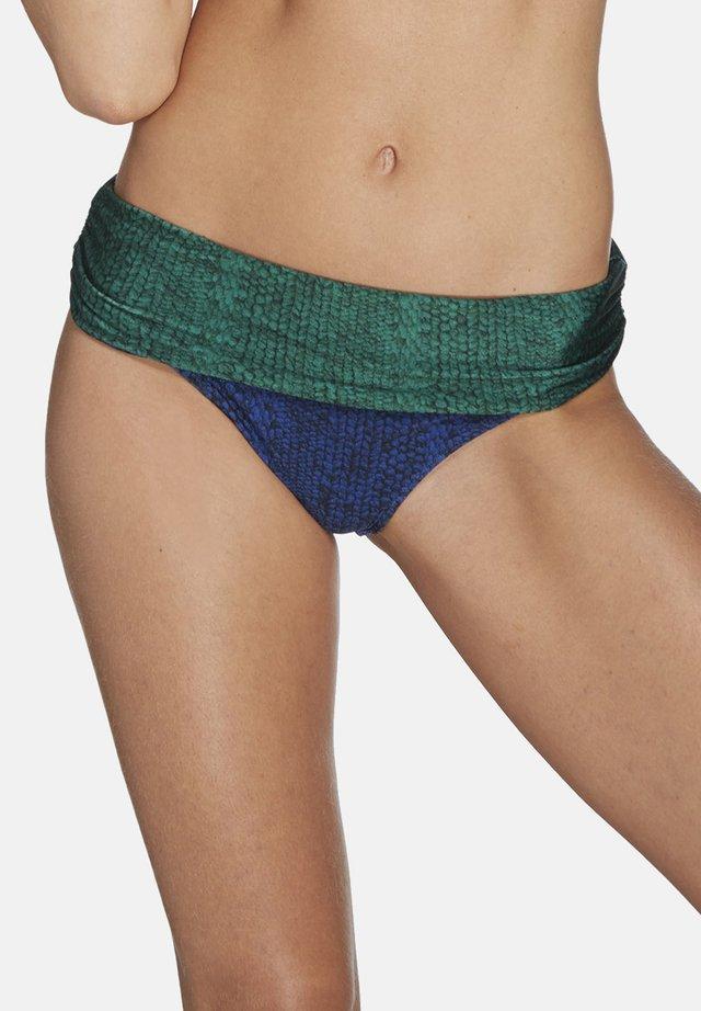 Bas de bikini - bleu/vert