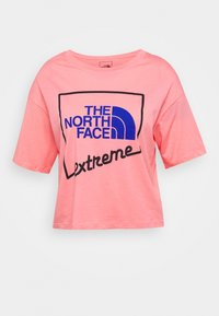 The North Face - EXTREME CROP TEE - Print T-shirt - miami pink - 4