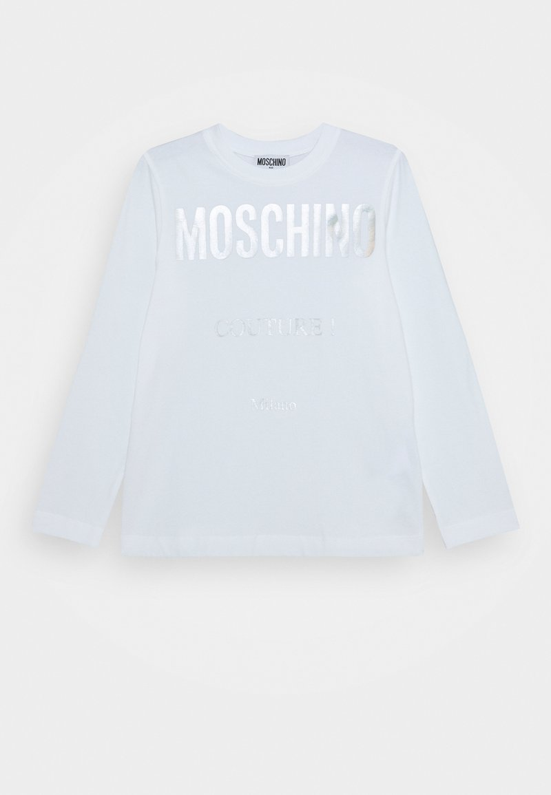 MOSCHINO - Long sleeved top - optic white