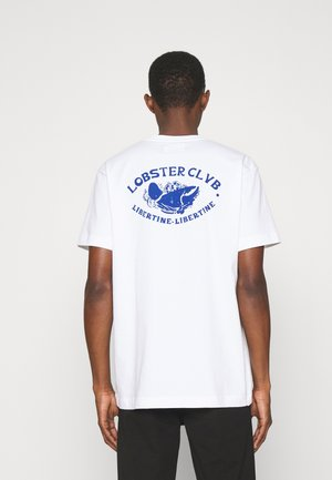 BEAT CLAW - Print T-shirt - white