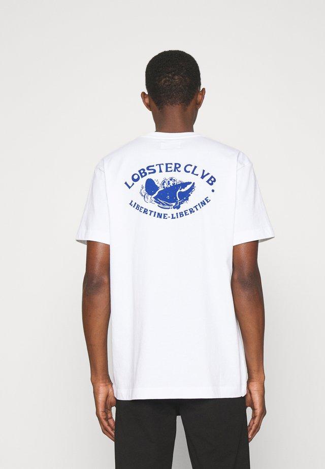 BEAT CLAW - T-shirt print - white