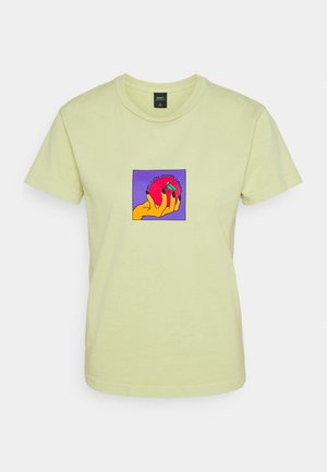 APPLE A DAY - Print T-shirt - pale green