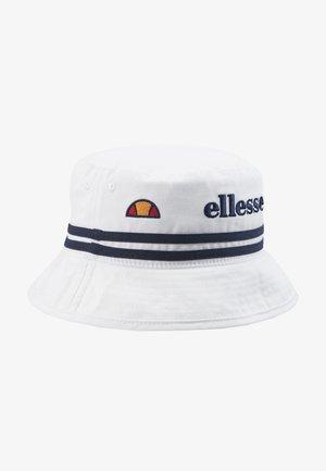 LORENZO BUCKET HAT UNISEX - Hatt - white
