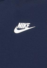 Nike Sportswear - REPEAT HOODIE - Huppari - midnight navy/white - 2