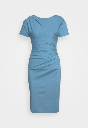 IZLO - Pouzdrové šaty - mist blue