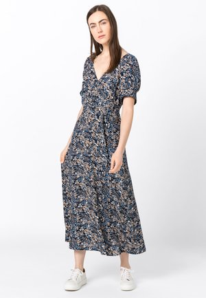 MIT MILLEFLEURS-PRINT - Maxi dress - blue