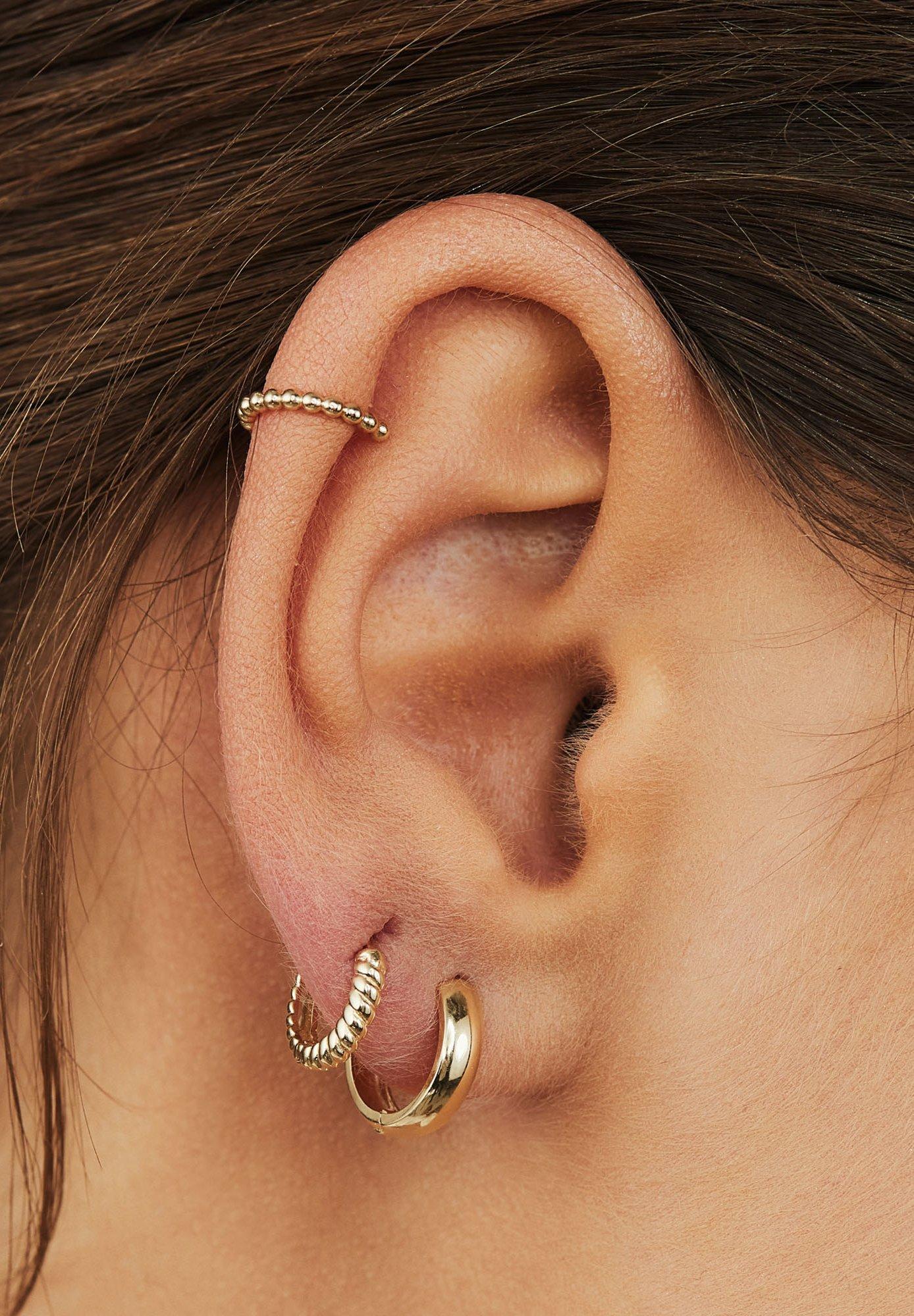 Women 14 CARAT GOLD - Earrings
