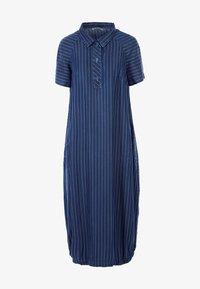 HELMIDGE - MIT POLO-KRAGEN - Denim dress - blau - 5
