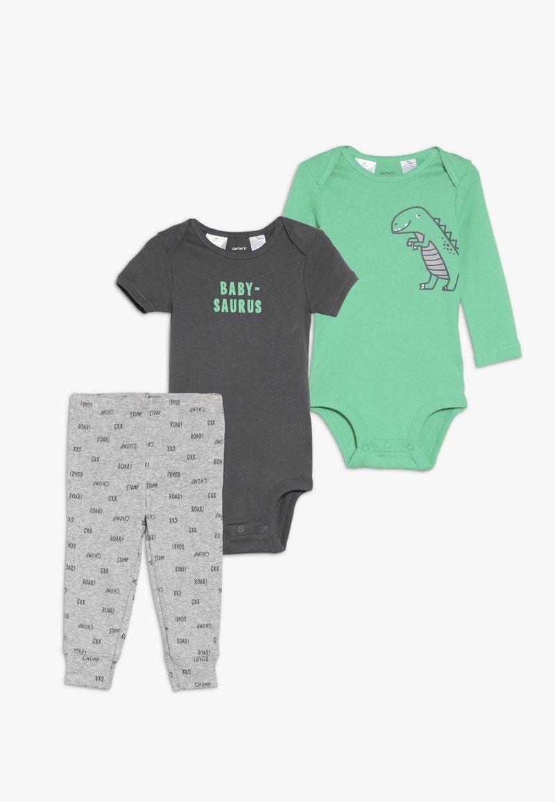 Carter's - LITTLE CHARACTER BABY SET - Body - green