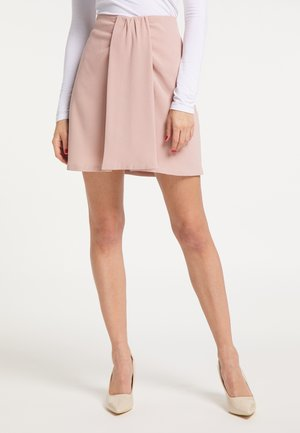 ELEGANTER ROCK - A-line skirt - nude