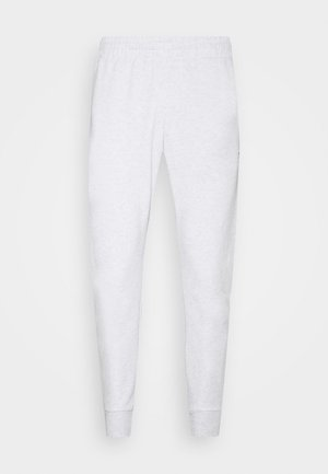 VECTOR  - Tracksuit bottoms - white melange