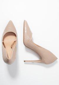 Head over Heels by Dune - AIMEES - Lodičky na vysokém podpatku - nude - 3