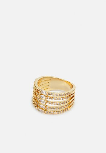GEAWEN - Ring - clear on gold-coloured