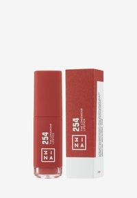 3ina - THE LONGWEAR LIPSTICK - Liquid lipstick - 254 brown - 2