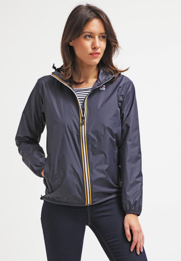 K-Way - LE VRAI CLAUDETTE - Waterproof jacket - dark blue
