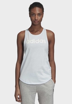 ESSENTIALS LINEAR TANK TOP - Top - blue