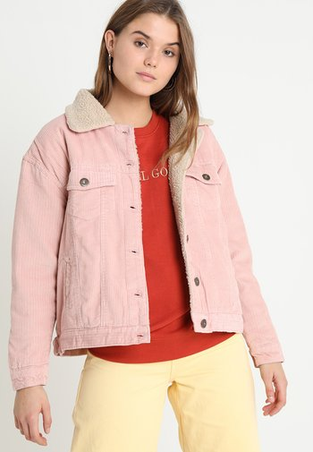 LADIES OVERSIZE SHERPA JACKET