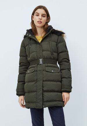 MOLI - Down coat - after dark green
