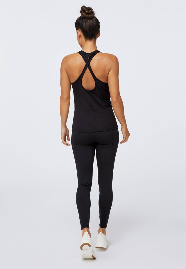 CROSSOVER BACK  - Top - black