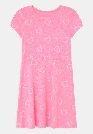 GIRL - Jersey dress - pink