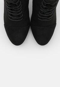 Anna Field Wide Fit - Šněrovací kotníkové boty - black - 5