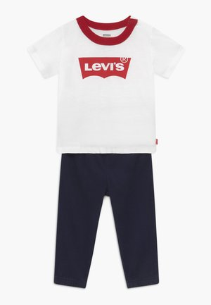 JOGGER SET - Trousers - white