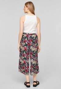 QS by s.Oliver - Trousers - beige floral aop - 2