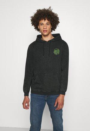 EXCLUSIVE TOXIC DOT HOODIE UNISEX - Sweater - black