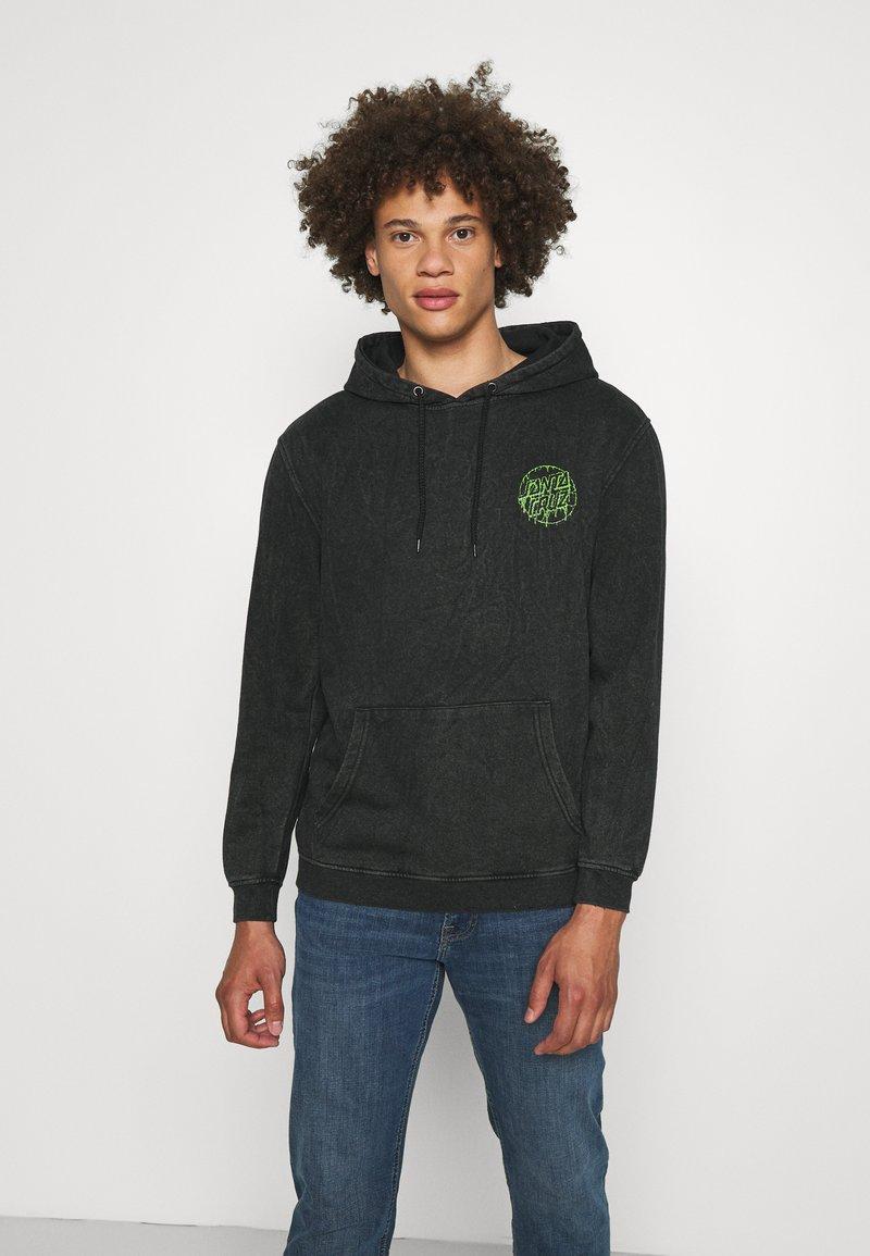 Santa Cruz - EXCLUSIVE TOXIC DOT HOODIE UNISEX - Sweatshirt - black