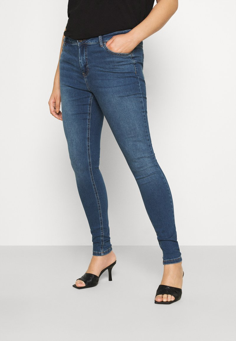 Zizzi - AMY - Jeans Skinny Fit - blue denim