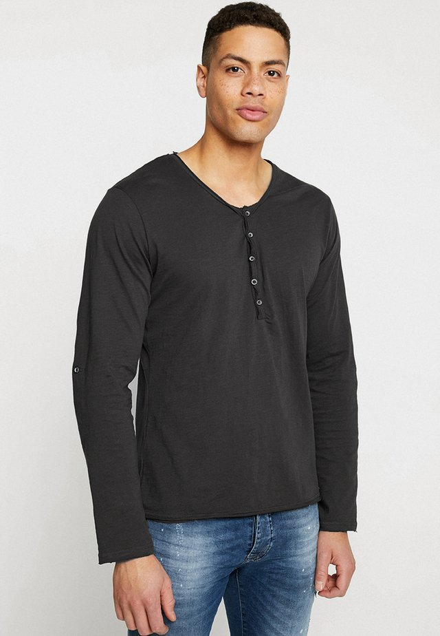 GINGER - T-shirt à manches longues - anthracite
