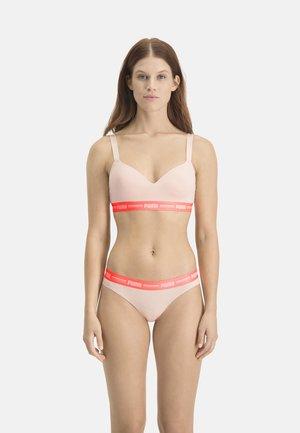 Push-up bra - light pink
