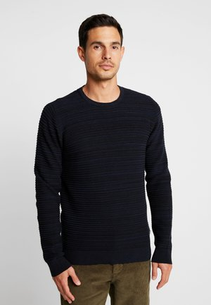 STRUCTURE - Jumper - navy melange