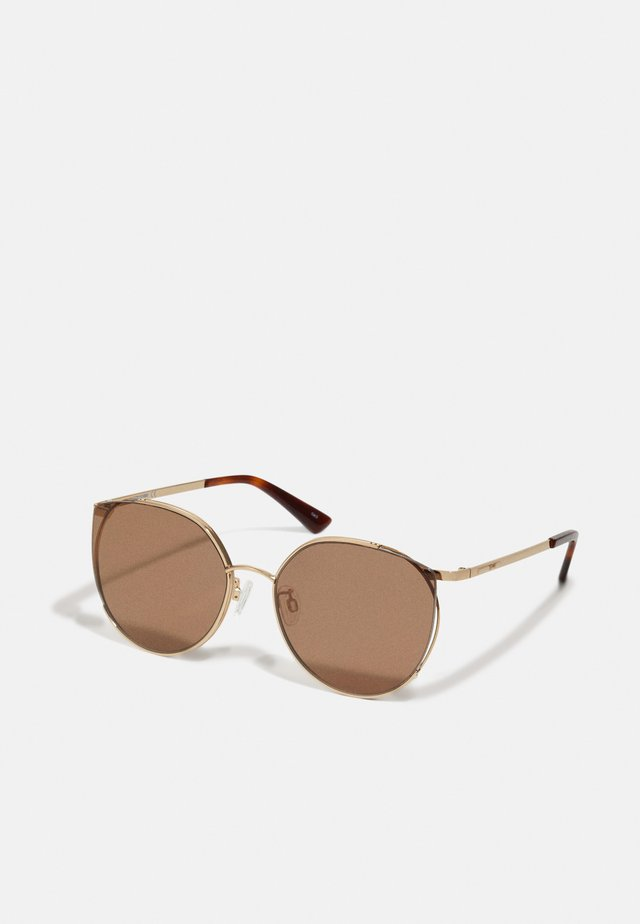 Sunglasses - gold-coloured/gold-coloured/brown
