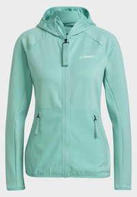 adidas Performance - Fleece jacket - green - 8