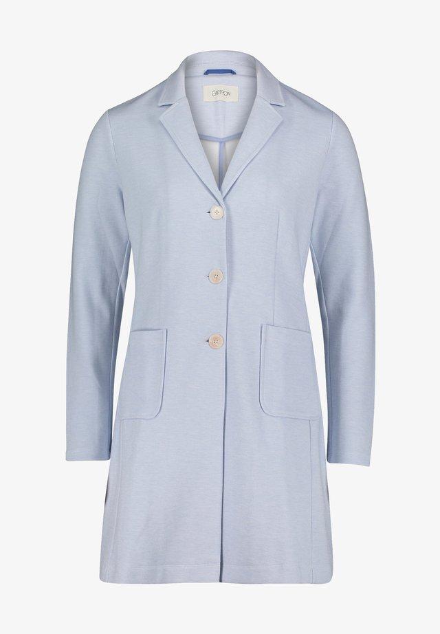 Halflange jas - hellblau