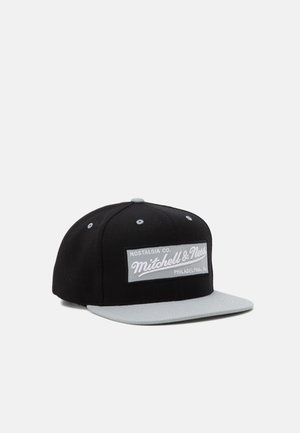 BOX LOGO SNAPBACK - Kšiltovka - black/grey