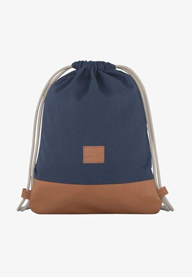 Johnny Urban - TURNBEUTEL LUKE - Sports bag - blue/brown