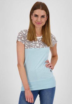 CORAAK - Print T-shirt - ice