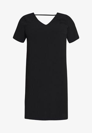 CARMANILO V-NECK  - Vestito di maglina - black