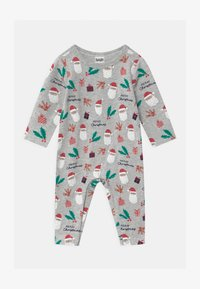 Cotton On - THE LONG SLEEVE SNAP UNISEX - Pyjamas - cloud marle - 0